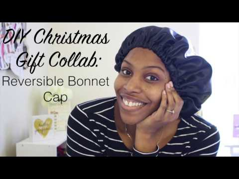 DIY Christmas Gift Collab: Reversible Bonnet Cap
