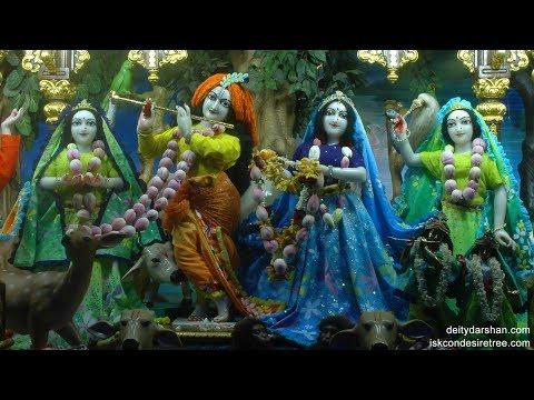 Sri Sri Radha Gopinath Temple Mangal Arati Darshan 23rd Mar 2018 Live from ISKCON Chowpatty,Mumbai