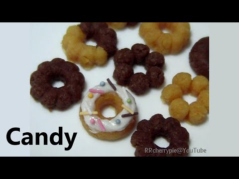 You can eat 🍩 DIY Doughnut shaped Candy Kit - happy kitchen 1 可吃
