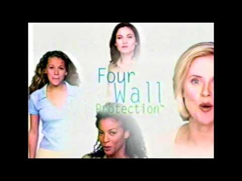 Stay Free Maxi Pad Commercial - New Four Wall Protection - 1998
