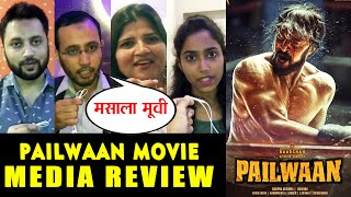 Pailwaan Movie | MEDIA REVIEW | Kichcha Sudeep | First Day First Show | Pehlwaan