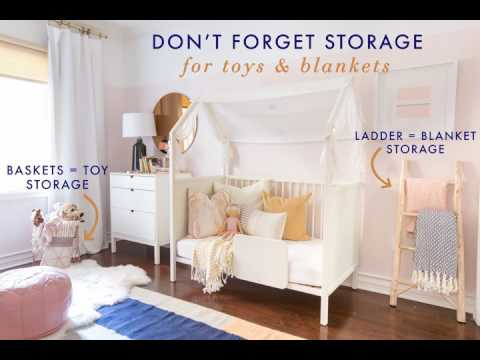 How To Bring Color, Style, and Fun To A Little Girl's Nursery