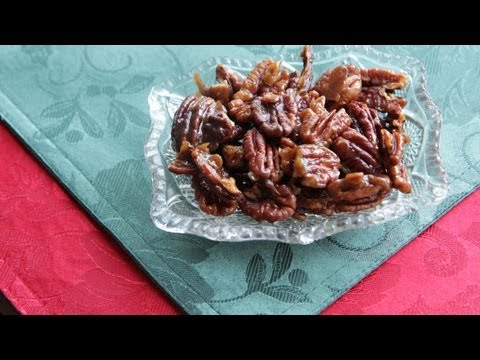 Vegan Candied Pecans Recipe (9.18.12 - Day 37) Sugar Glazed Nuts