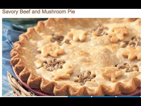 Easy, Creamy, Savory Beef/Veggie Pie