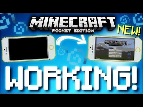 Working IPHONE in Minecraft PE! (MCPE 1.0.5)