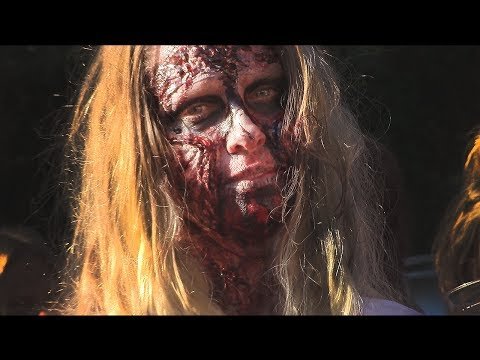 Halloween Zombie Chase - and my hair/minecon