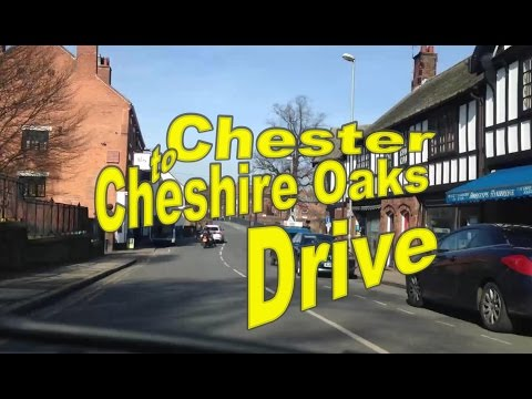 Chester to Cheshire Oaks Time Lapse