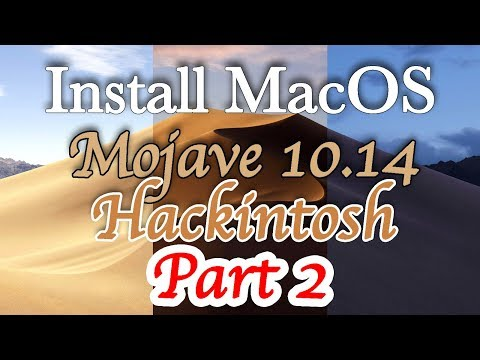 Install MacOS Mojave Hackintosh | Setting Up Clover