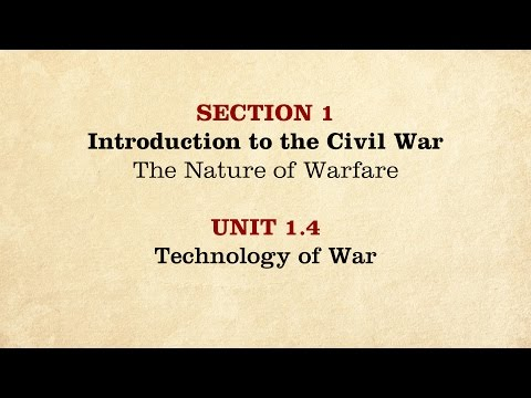 MOOC | Technology of War | The Civil War and Reconstruction, 1861-1865 | 2.1.4