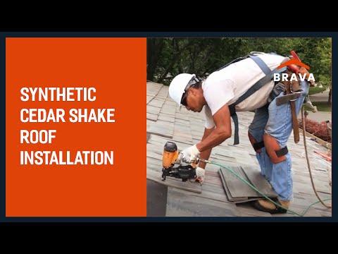Brava Synthetic Shake Roof Install - Libertyville, Illinois