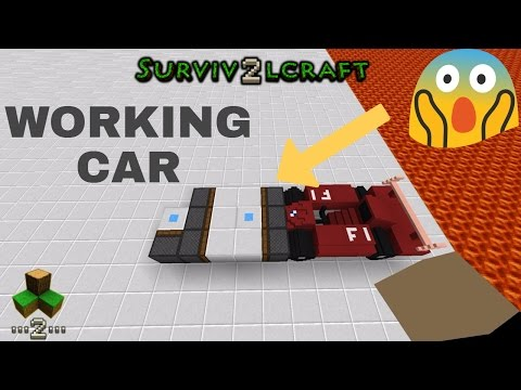 MOVING CAR - Survivalcraft 2 | Survivalcraft Furniture | Survivalcraft CAR