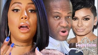 Tamar Braxton exposes Vince for cheating with Laura Govan | The divorce is real now!