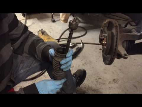 Ford FOCUS INNER TIE ROD REMOVAL TRICK autozone tool rental fix and some fire