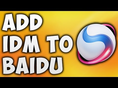 How To Add Idm To Baidu Browser - The Easiest Way To Install IDM Extension In Spark Browser