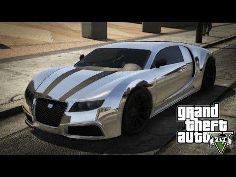 GTA 5 Online - ADDER Online Spawn Location! (FREE Bugatti Veyron!)