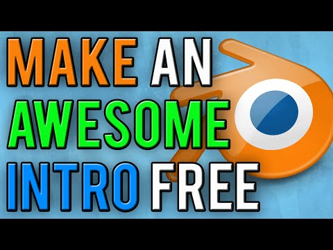 How To Make An Intro With Blender For Free! Blender Intro Tutorial! (2016)