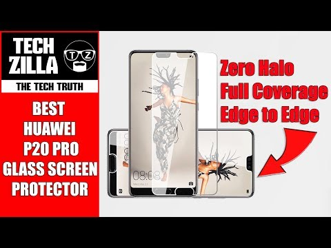 Best Huawei P20 Pro Glass Screen Protector