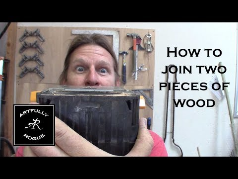 How to join two pieces of wood