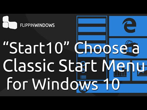 Classic Start Menu For  Windows 10