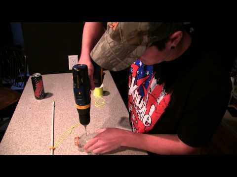 Homemade bowfishing setup cheap and easy
