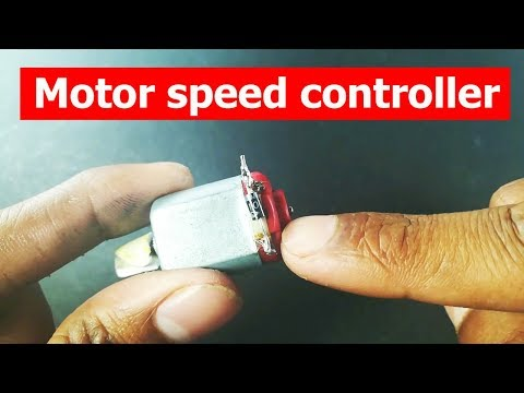 How to make high power motor speed controller+high power led dimmer || DIY
