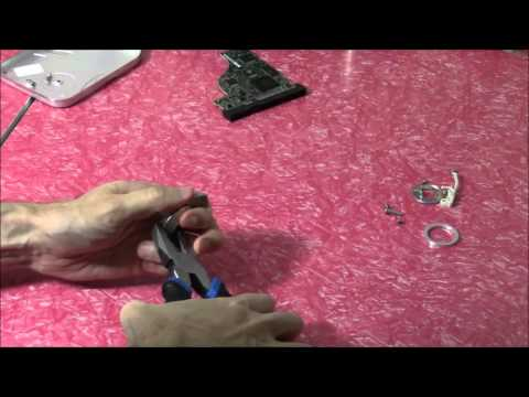 Removing a Neodymium Magnet from a Hard Drive Bracket: The Easy Way
