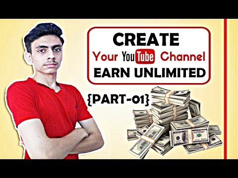 {Urdu/Hindi} How To Create New YouTube Channel And Earn Money From YouTube In 2017