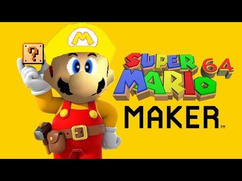 Super Mario 64 Maker [ Make 3D Mario Levels!!! ]