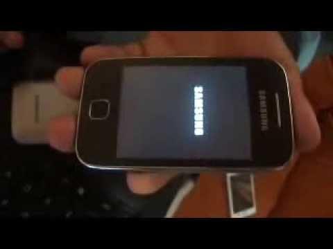 Samsung galaxy Y young S5360 quitar codigo patron seguridad bloqueo master reset hard reset