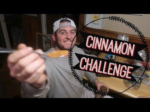 FUNNY CINNAMON CHALLENGE (she cried)