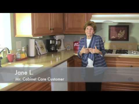 Jane testimonial B for Mr Cabinet Care