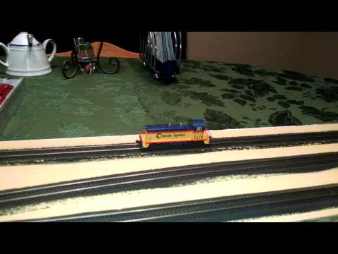 Model Railroad - NCE DCC - Kato NW2