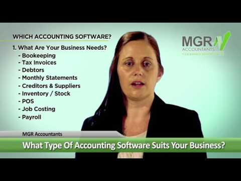 What Type of Accounting Software Suits Your Business