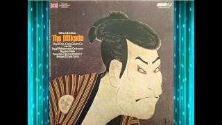 The Mikado Act 1  Doyly Carte 1973   Nash  Reed   Gs