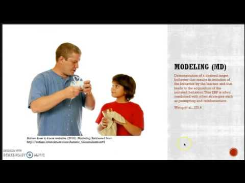 27 Evidence-based Practices for Autism Spectrum Disorder