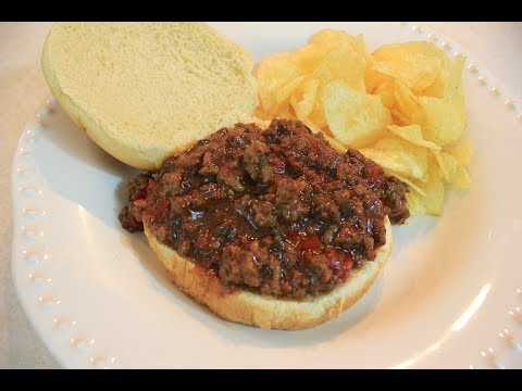 Crockpot BBQ Sloppy Joe Recipe: Homemade Barbecue Sloppy Joes In A Slow Cooker