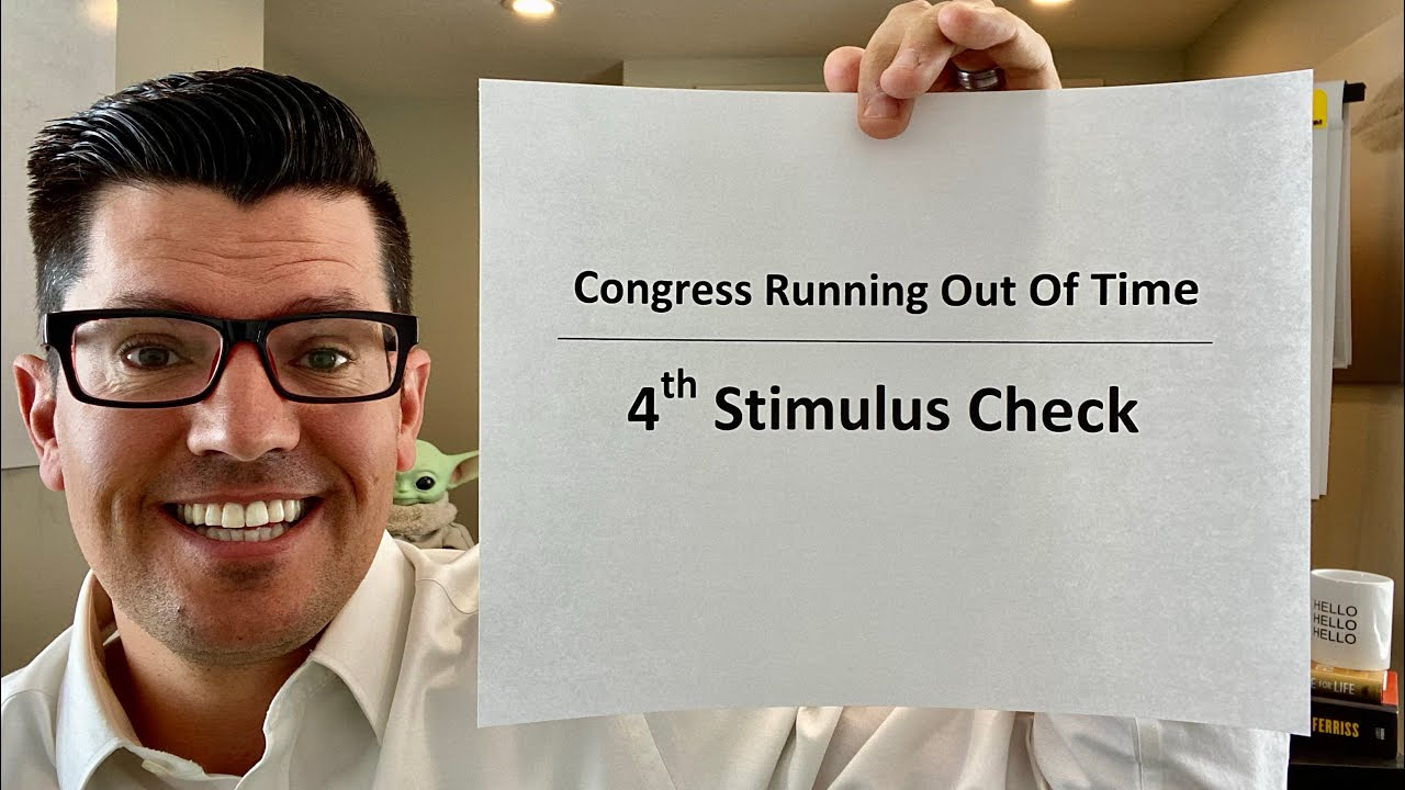 Congress's NEW timeline | Fourth Stimulus Check Update | Senator Durbin - Time Is Up! | AMC Stock