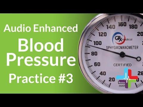 Audio Enhanced Blood Pressure Practice #3