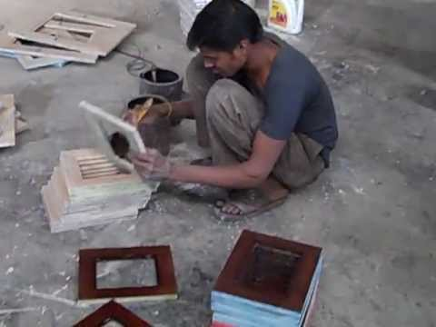 Painting Refurbished Furniture in India