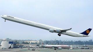 أطول 6 طائرات في العالم , لن تصدق كم يبلغ طولها