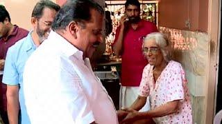 Minister E. P. Jayarajan visits inmates of mythri old age home Mattanur