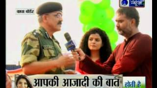 India News Exclusive show live from Wagah Border
