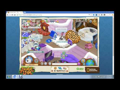 animal jam getting adopted aas a puppy ep 1:my new family