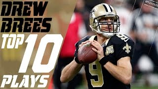 Drew Brees Top 10 Plays Of The 2016 Season Nfl Highlights