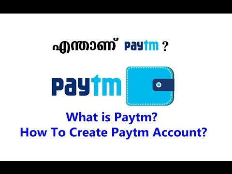 What is Paytm How To Create Paytm Account (Malayalam)