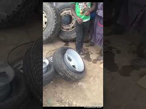CAR TYRE AIR FILLING NEW TECHNOLOGY