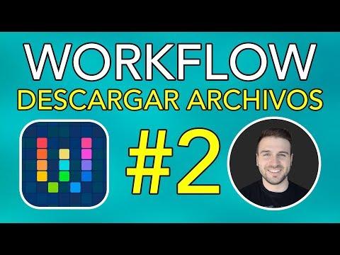 WORKFLOW #2: Cómo Descargar Archivos desde Safari en iOS