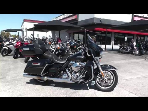 678296 - 2015 Harley Davidson Ultra Classic Low FLHTCUL - Used Motorcycle For Sale