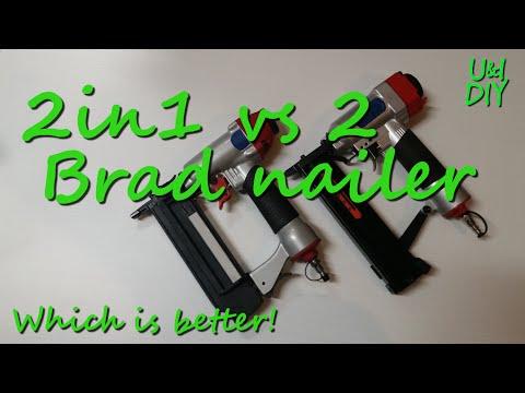 2in1 vs 2 - Brad nailer - DIY Tool tip