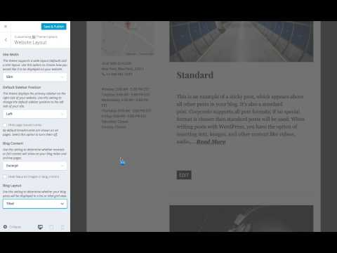 Corporate WordPress Theme: Exploring Your Layout Options (Step 9)